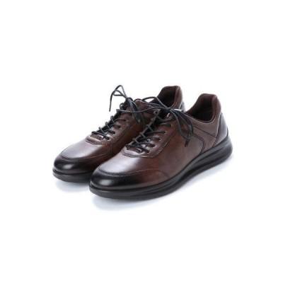 エコー ECCO Mens Aquet Sneaker (COCOA BROWN)