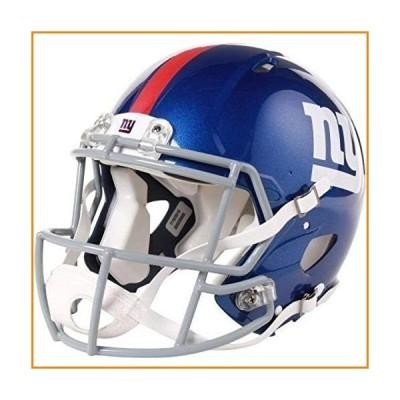 Riddell Speed 本物 ヘルメット - NFL ニューヨーク・ジャイアンツ (New York Giants)_並行輸入品
