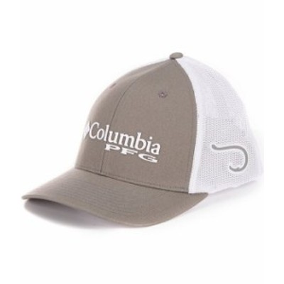 コロンビア メンズ 帽子 アクセサリー PFG Mesh Cap Titanium/Hook