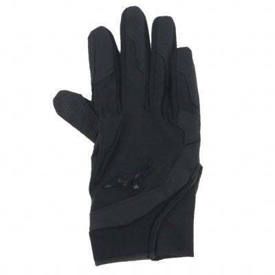 ミズノ 野球 ジュニア守備用手袋 右手用 高校野球ルール対応モデル 1EJEY20190 : ブラック×ブラック キッズ・子供 MIZUNO