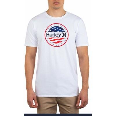 ハーレー Hurley メンズ Tシャツ トップス O&O America Short Sleeve T-Shirt White