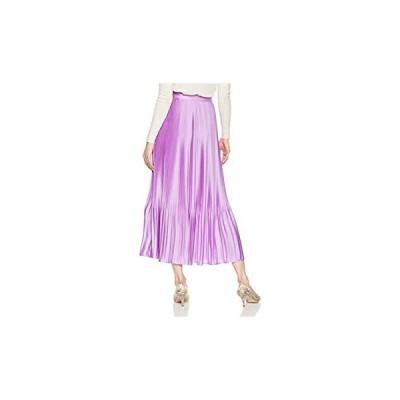 スタイリング/ サテンプリーツスカート 1 16WFS185023 レディース PPL 日本 0 (日本サイズ7 号相当)