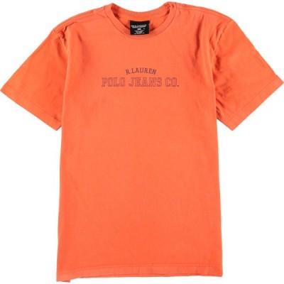 POLO JEANS COMPANY ロゴプリントTシャツ メンズS /eaa067630