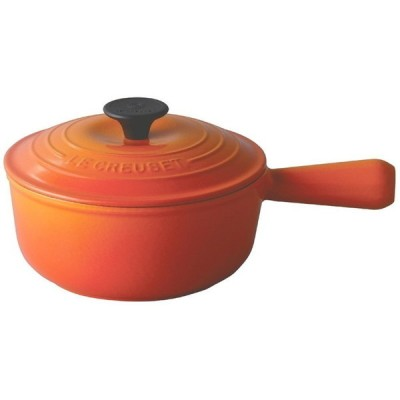 ル・クルーゼ ソースパン18cm (オレンジ) [IH対応] 調理器具