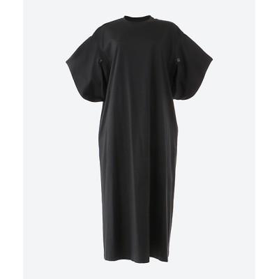 <AKIRANAKA(Women)/アキラナカ> Slit sleeves T dress BK BLACK【三越伊勢丹/公式】