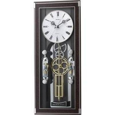 リズム時計工業株式会社 電波からくり時計 ソフィアーレプリモ 4mn535sr23 飾り振子付