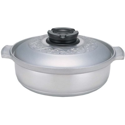 北陸アルミニウム 業務用 マイスターちり鍋 27 IH対応 アルミニウム合金 日本 QTL4901