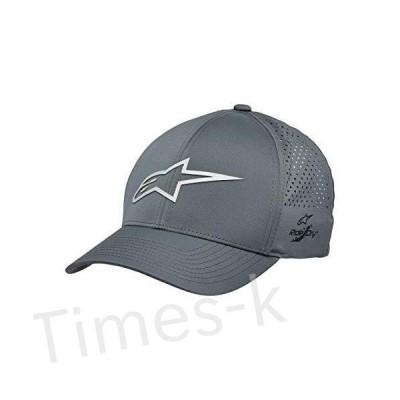 Alpinestars メンズ ロゴ フレックスフィット テックハット カブレッドビル ストラクチャードクラウン US