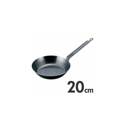 EBM ブルーテンパー 鉄フライパン 20cm IH(200V)対応