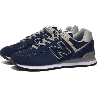 ニューバランス New Balance メンズ スニーカー シューズ・靴 ml574egn Navy