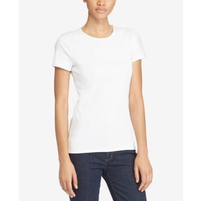 ラルフローレン カットソー トップス レディース Stretch Knit T-Shirt White