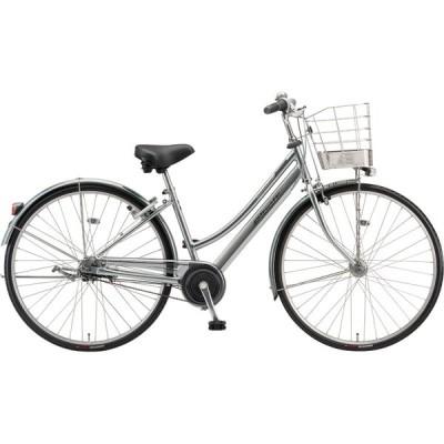 送料無料 ブリヂストン シティサイクル自転車 アルベルト AB75L1 M.スパークルシルバー