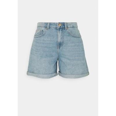 オンリー トール レディース デニムパンツ ボトムス ONLPHINE LIFE - Denim shorts - light blue denim light blue denim
