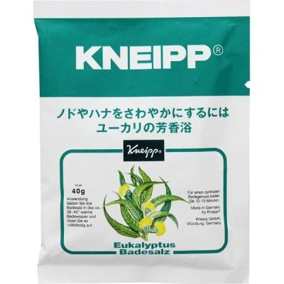 クナイプ・ジャパン クナイプ バスソルト ユーカリ 40g (医薬部外品)