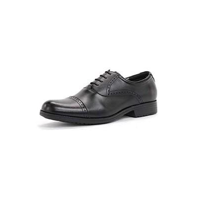 [ジンク] 6001 ビジネスシューズ 革靴 メンズ 本革 日本製 屈曲性 滑りにくい 防滑ソール 軽量 国産 ビジネス 撥水 紳士靴 通勤 (26.