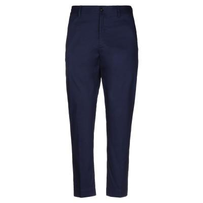 マウロ グリフォーニ MAURO GRIFONI パンツ ブルー 52 コットン 98% / ポリウレタン 2% パンツ