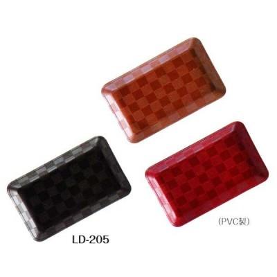 SHIMBI(シンビ) キャッシュトレイ LD-205 サイズ:W125×D205×H17mm(深さ)色(ブラック)