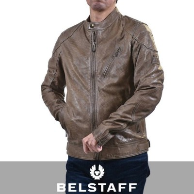 ベルスタッフ BELSTAFF ブルゾン MAXFORDPERFORATED 71020643 10140 カーキ
