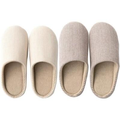Minao スリッパ おしゃれ 洗える 来客用 滑り止め 静音 室内履き クッション性 履き心地良い 軽量 シンプル かわいい 家族 カップル ルーム