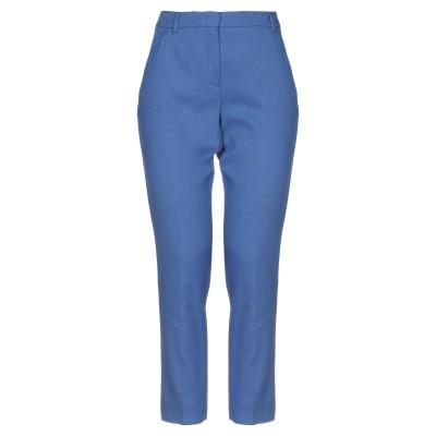 I BLUES パンツ パステルブルー 38 コットン 54% / レーヨン 45% / ポリウレタン 1% パンツ