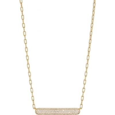 ナディール NADRI レディース ネックレス ジュエリー・アクセサリー Frost Pave Bar Pendant Necklace Gold