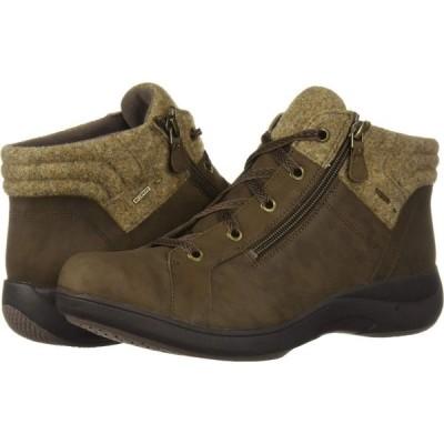 アラヴォン Aravon レディース ブーツ シューズ・靴 Rev Stridarc Waterproof Low Boot Brown Nubuck