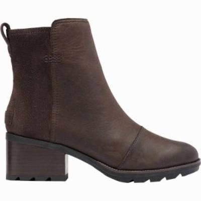 (取寄)ソレル レディース ケイト ブーティー ブーツ Sorel Women Cate ie Boot Blackened Brown 送料無料
