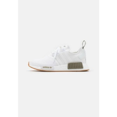 アディダス メンズ 靴 シューズ NMD_R1 UNISEX - Trainers - footwear white