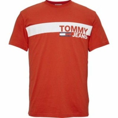 tommy-jeans トミー ジーンズ ファッション 男性用ウェア Tシャツ tommy-hilfiger essential-box-logo