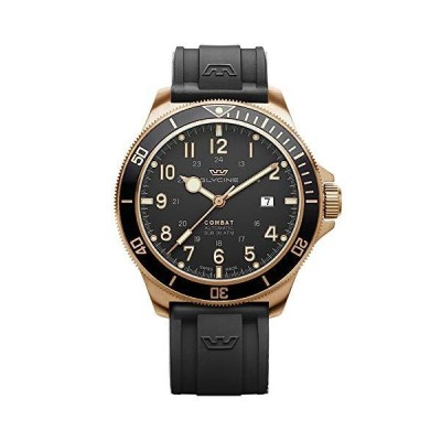 Combat Mens Analog Automatic Watch with Silicone Bracelet GL0292_並行輸入品