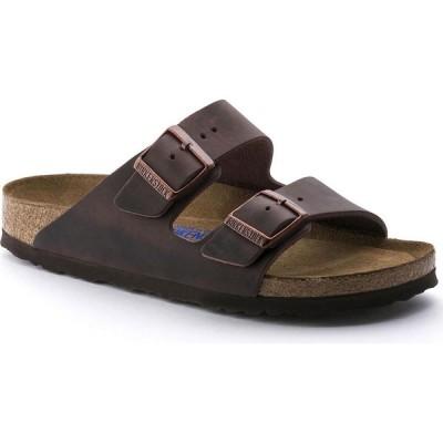 ビルケンシュトック Birkenstock レディース サンダル・ミュール シューズ・靴 Arizona Soft Footbed Narrow Width Sandals Habana Oiled Leather