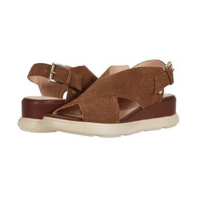Geox ジオックス レディース 女性用 シューズ 靴 ヒール Pisa 1 - Brown