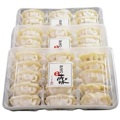 伊豆沼農産 伊達の純粋赤豚 生餃子45個15個×3P