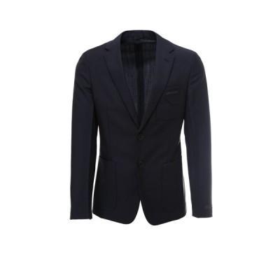 プラダ メンズ ジャケット&ブルゾン アウター Prada Logo Single-Breasted Blazer -