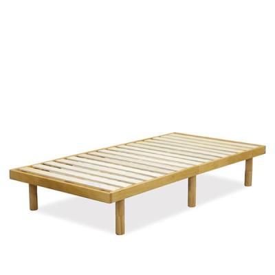 シングルベッド ベッドフレーム すのこ 北欧 おしゃれ 高さ調整 低め