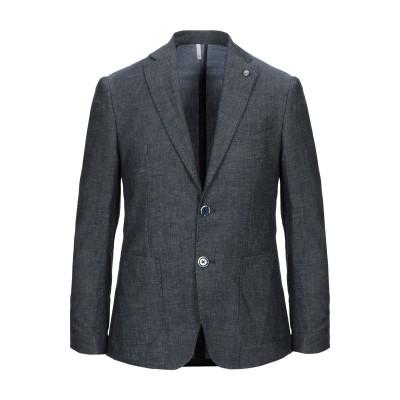 DOMENICO TAGLIENTE テーラードジャケット ブルー 54 コットン 73% / リネン 27% テーラードジャケット