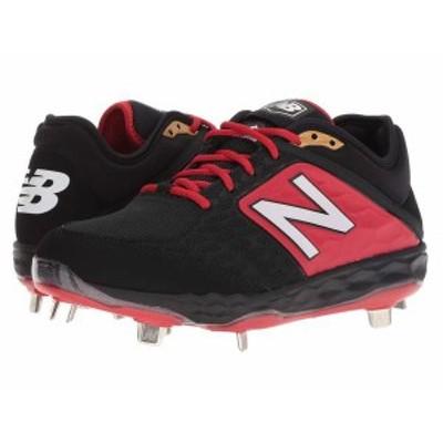 ニューバランス メンズ スニーカー シューズ L3000v4 Baseball Black/Red