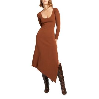 エーエルシー レディース ワンピース トップス Harvey Long-Sleeve Asymmetric Dress