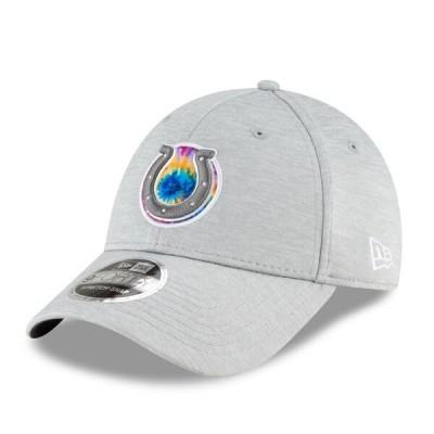 コルツ キャップ 帽子 ニューエラ New Era 9FORTY グレー NFL 2020 アジャスタブル