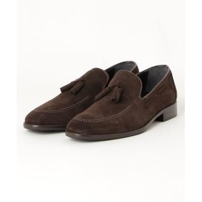 TAKA-Q / *アラウンドザシューズ/around the shoesMADE IN ITALY スエード タッセルローファー MEN シューズ > ローファー
