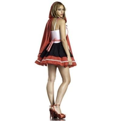 ハロウィンコスチューム衣装可愛いアリス・赤ずきん魔女ブライズメイクリスマスコスプレ仮装サンタ