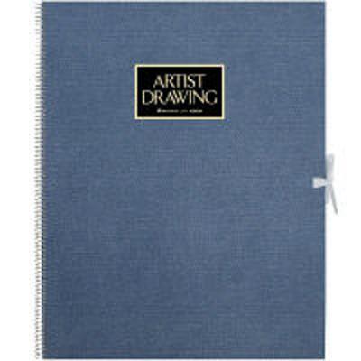 マルマンマルマン スケッチブック アーチストメダリオン F6 特厚口 (406×320mm) ブルー 20枚 1冊 S56A-02 (直送品)(直送品)