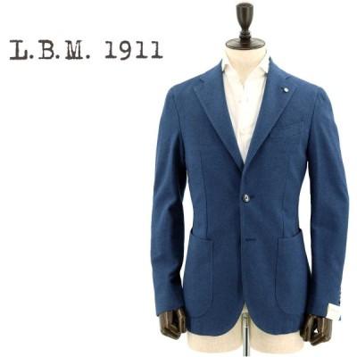 エルビーエム1911 L.B.M.1911 メンズ コットン カシミアタッチ 2B シングルジャケット JACK 9201A29865079 3(ブルー)返品交換不可