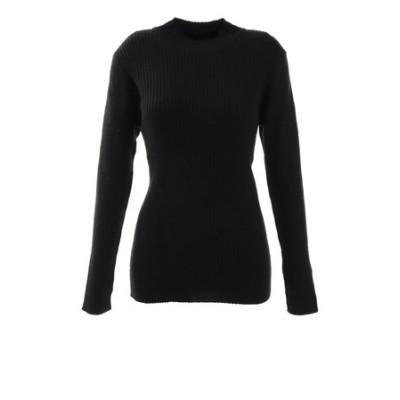 ハイゲージリブ編みセーター 872PA0CG7084BLK オンライン価格