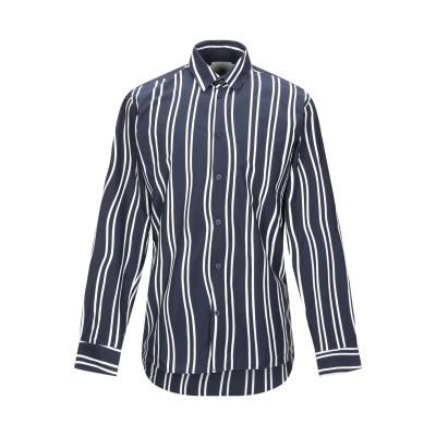 MINIMUM シャツ ダークブルー L コットン 100% シャツ