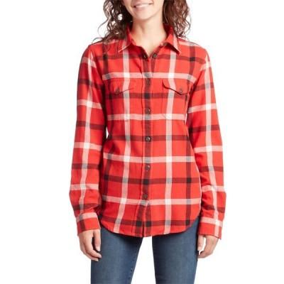 フィルソン レディース シャツ トップス Filson Scout Shirt - Women's Red/Black/Cream