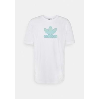 アディダスオリジナルス Tシャツ メンズ トップス TREF SERIES TEE UNISEX - Print T-shirt - white