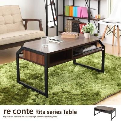 センターテーブル テーブル リビングテーブル コーヒーテーブル ローテーブル カフェテーブル おしゃれ 小物置き ソファテーブル シンプル オープン収納付き