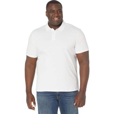 カルバンクライン Calvin Klein メンズ ポロシャツ 半袖 トップス Short Sleeve Move 365 Pique Polo Brilliant White