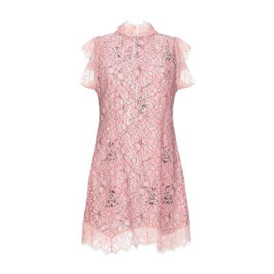 SWEET SECRETS ミニワンピース&ドレス ピンク 44 ポリエステル 85% / レーヨン 15% ミニワンピース&ドレス